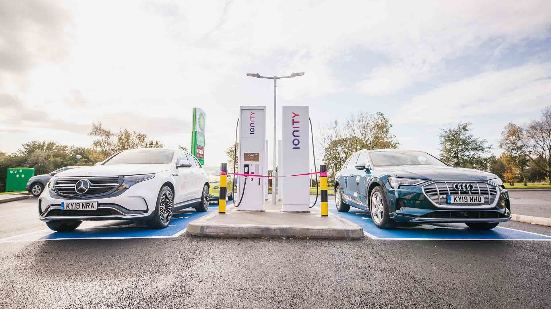 Ionity EV charge point