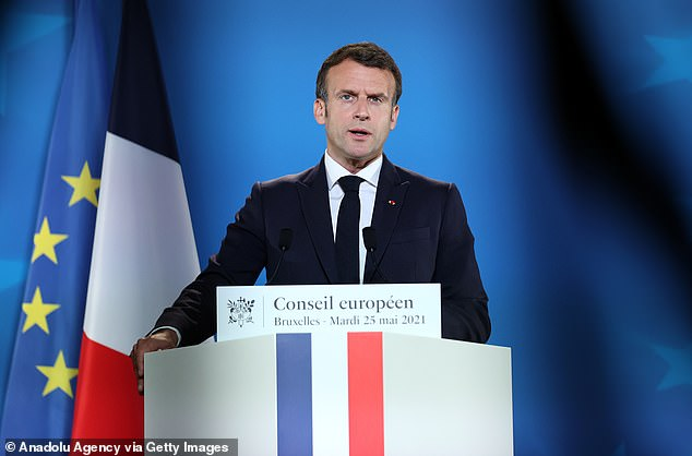 French PresidentEmmanuel Macron, 43, plans to drop the use of English in EU meetings once France takes control of the EU's rolling presidency in 2022