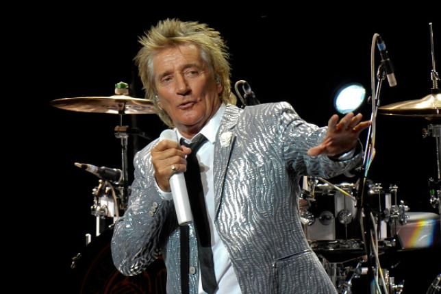 Rod Stewart Performs In Madrid