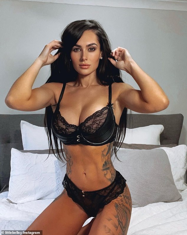 Glamour girl: After a worrying few days, notorious former NRL WAG Arabella Del Busso proved she was back on top on Tuesday, sharing one of her signature glamorous photos on Instagram