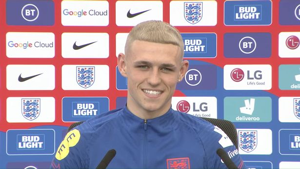 Phil Foden brought to mind images of Paul Gascoigne with his dyed blonde hair