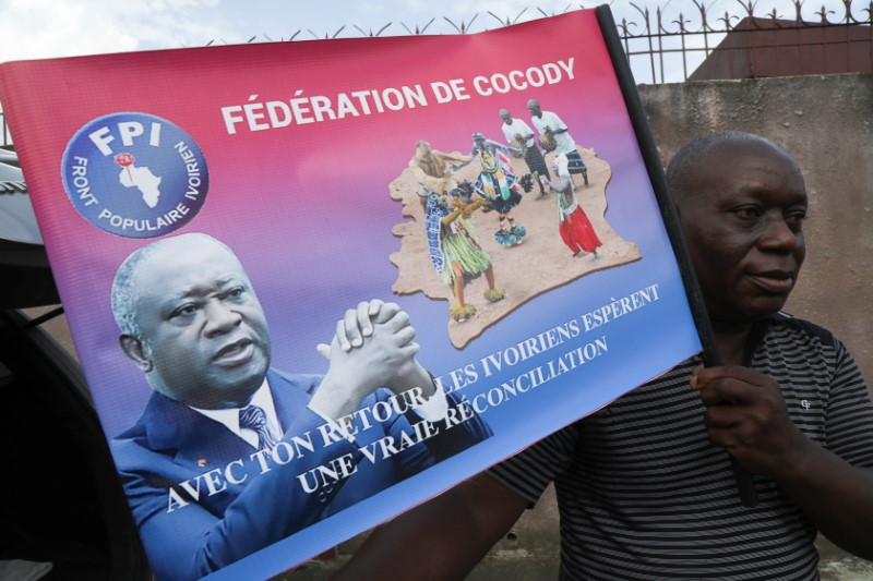 Former Ivory Coast president Gbagbo returns home after decade of exile