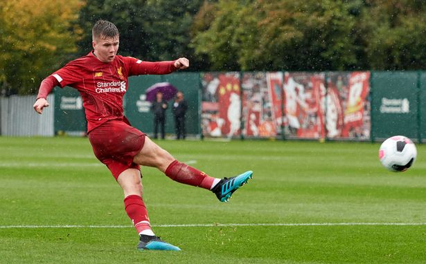 Jack Walls is one of four academy players that will depart Liverpool