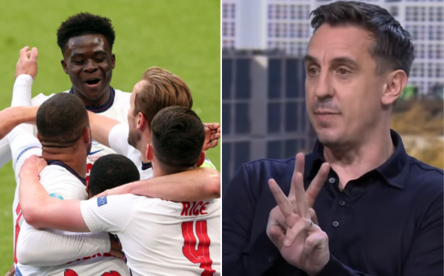 Gary Neville has suggested England should change formation for their game against Germany