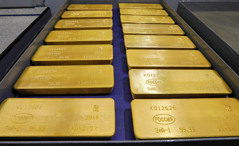 Gold Holds Gain as Powell Reiterates Rising Inflation Won't Last