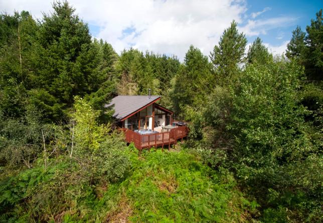 forest holidays cabin in delamere forest
