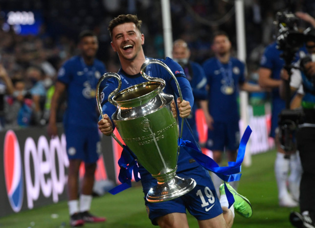 Mason Mount played a key role in Chelsea's Champions League success