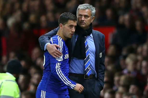 Eden Hazard and Jose Mourinho had their ups and down during their time together at Chelsea