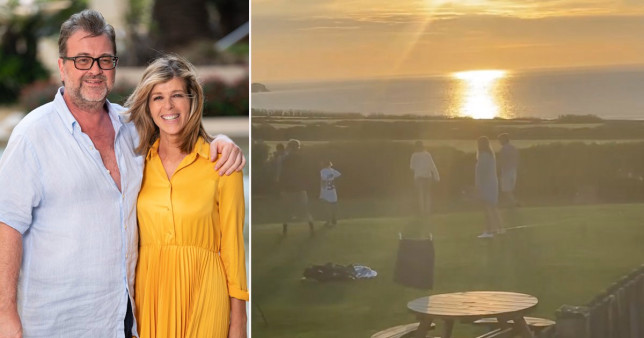 Kate Garraway enjoys staycation with the kids as family looks after Derek Draper