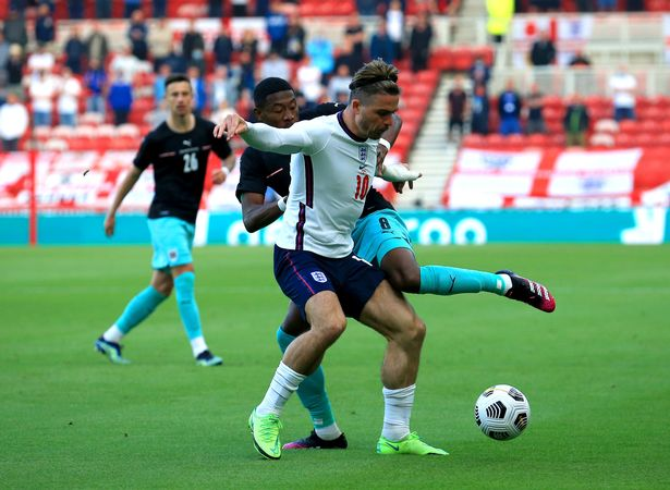 Grealish was given some special attention by Austria during the 1-0 friendly victory