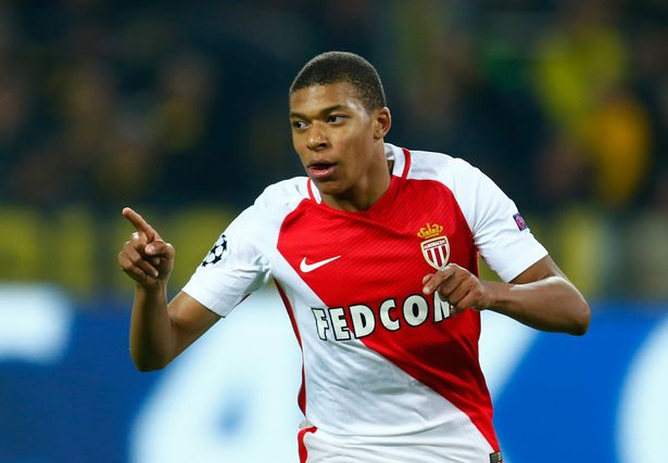 Mbappe chose to stay in France and continue his development with Monaco
