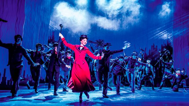 Mary Poppins on stage