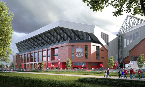 Liverpool have been granted permission to redevelop their Anfield Road stand