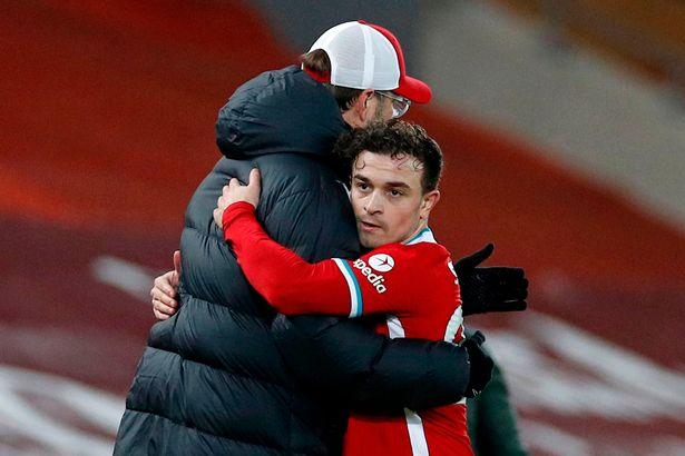 Xherdan Shaqiri has been unable to gain regular first-team football at Liverpool