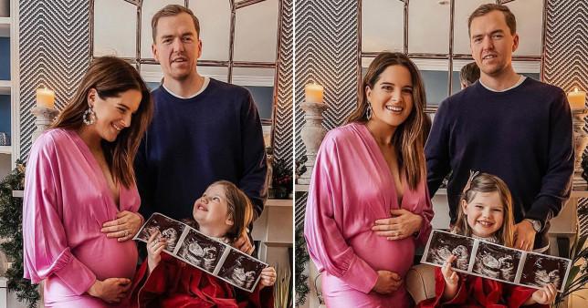 Binky Felstead, Max Darnton and daughter India