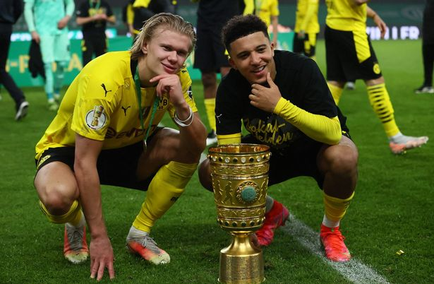 Erling Haaland and Jadon Sancho could be on their way to the Premier League