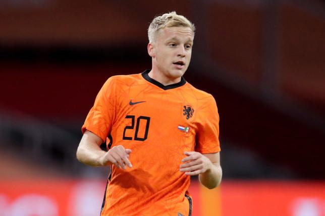 Donny van de Beek has withdrawn from Netherlands' Euro 2020 squad