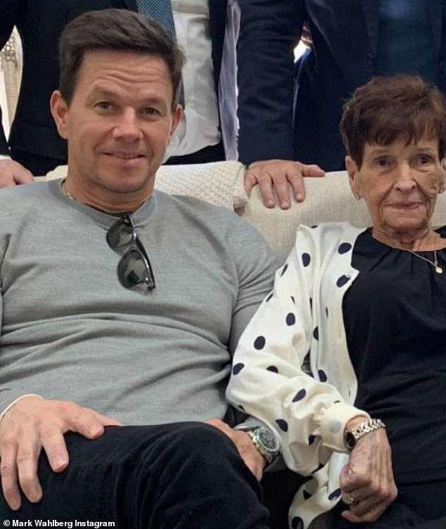 Heartfelt: Mark Wahlberg remembered his late mother Alma Wahlberg on his 50th birthday