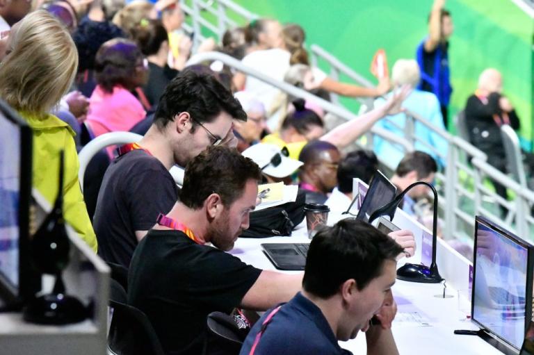 Netball volunteers