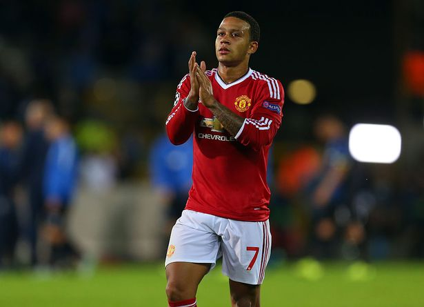Memphis Depay struggled during his time at Old Trafford