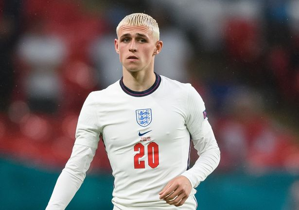 Phil Foden has dyed his hair for Euro 2020