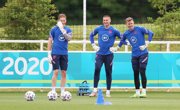Jordan Pickford and his fellow goalkeepers have upped the ante in training