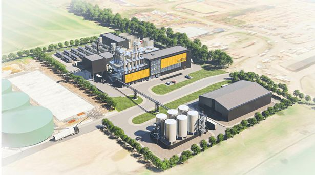 An overview of what the distillery should look like