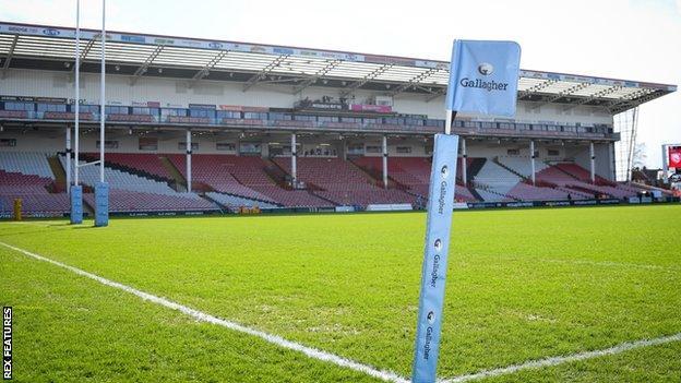 Gloucester's Kingsholm stadium