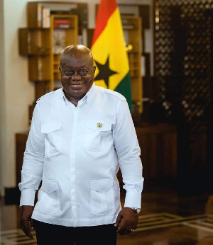 Nana Addo Dankwa Akufo-Addo, President of Ghana