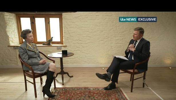 Princess Anne ignores unwritten royal rule at first Gatcombe Park interview since Duke's death