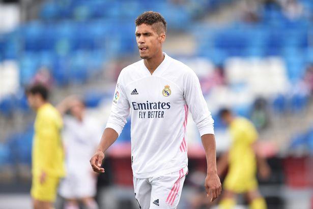 Real Madrid are resigned to Raphael Varane leaving the club