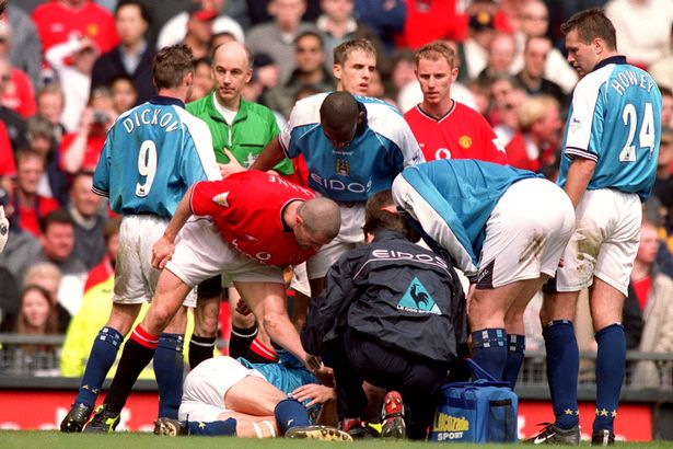 Keane made his feelings clear to Haaland after the infamous tackle just over 20 years ago