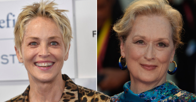 Meryl Streep and Sharon Stone