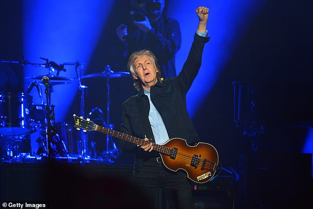 Sgt (salt and) Pepper! Sir Paul McCartney once treated fans to fish and chips after he was late arriving to an intimate Liverpool gig (pictured in 2018)