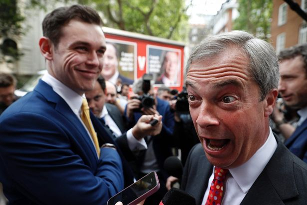 Nigel Farage was a leading figure in the Brexit chaos