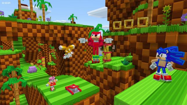 Sonic The Hedgehog Minecraft DLC