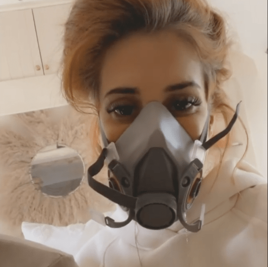 Stacey Solomon ghost