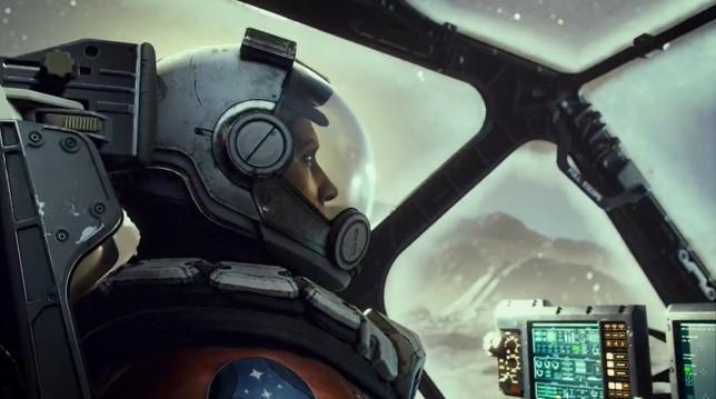 Starfield astronaut