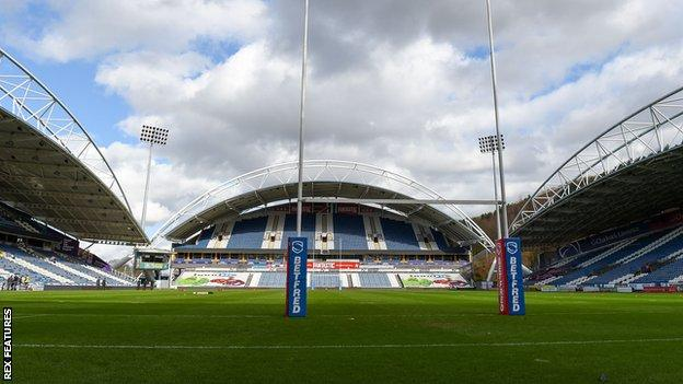 Huddersfield Giants have not hosted a match at their John Smith's Stadium home in front of fans since before the start of the coronavirus pandemic