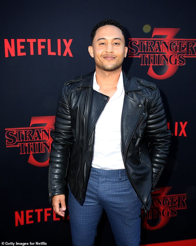 Crush:Tahj Mowry is opening up about his huge crush on Friends star Courteney Cox when he made a small cameo appearance on the show in 1996