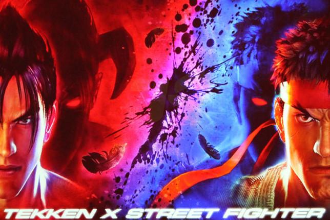 Tekken X Street Fighter poster Ryu Jin