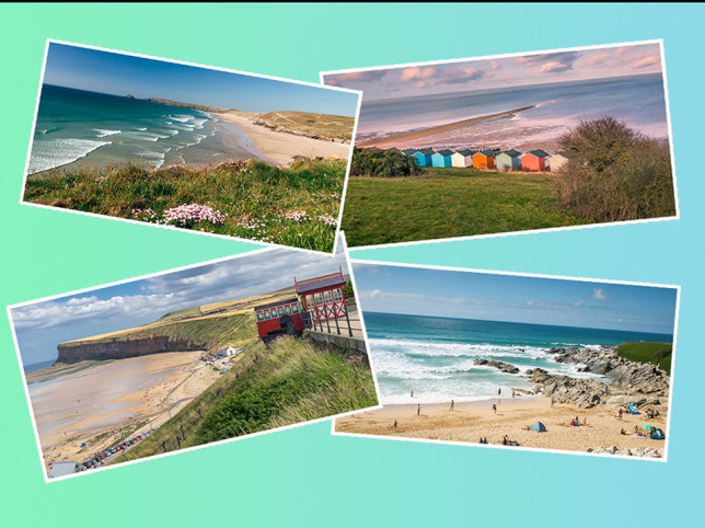 The 10 best beaches in the UK have been revealed