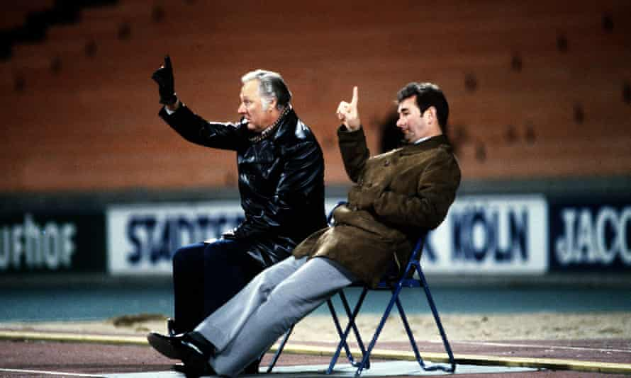 Brian Clough and Peter Taylor: architects of Nottingham Forest's revival from the drop to European Cup.