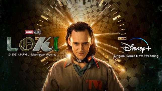 Loki Disney+ ad