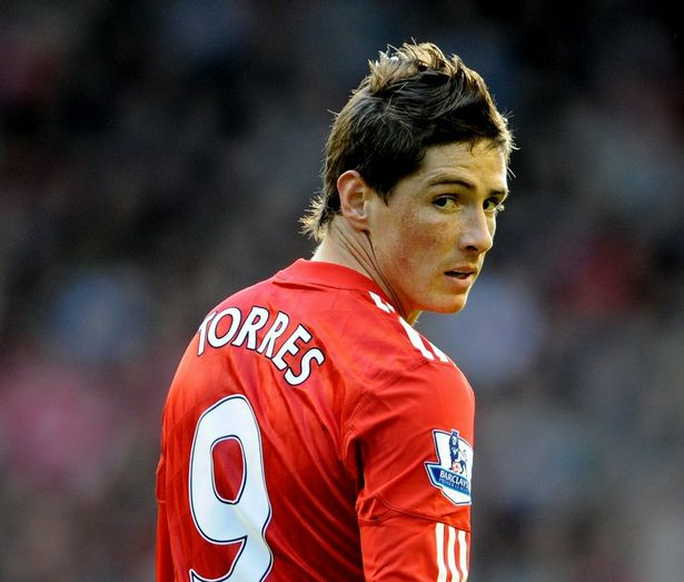 Fernando Torres was struggled with injuries in his final months at Liverpool