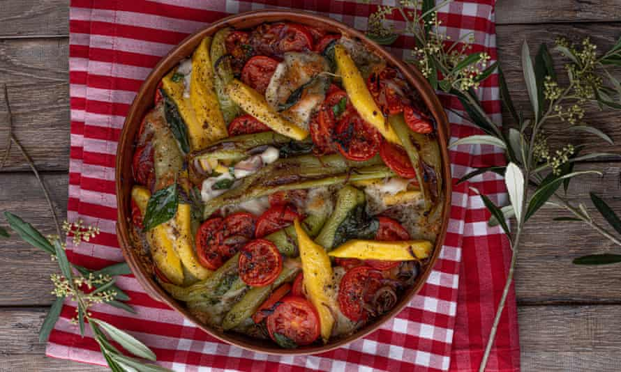'It could have been the main event': polenta and peppers.