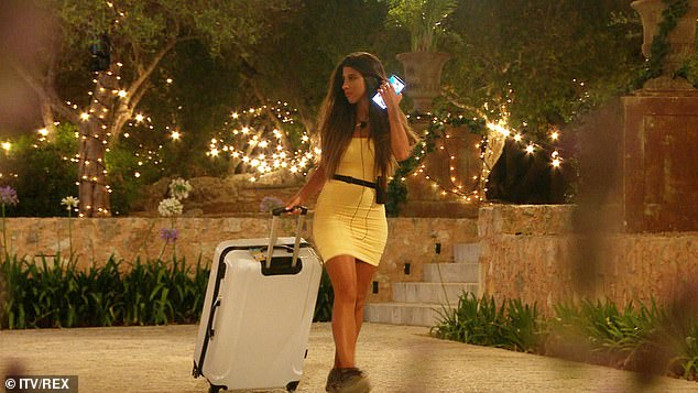 A shame: Shannon claimed 'great things happened' while she was in the villa, and she'd hoped viewers would have seen her 'cheeky' and 'outgoing' personality shine through, but to no avail