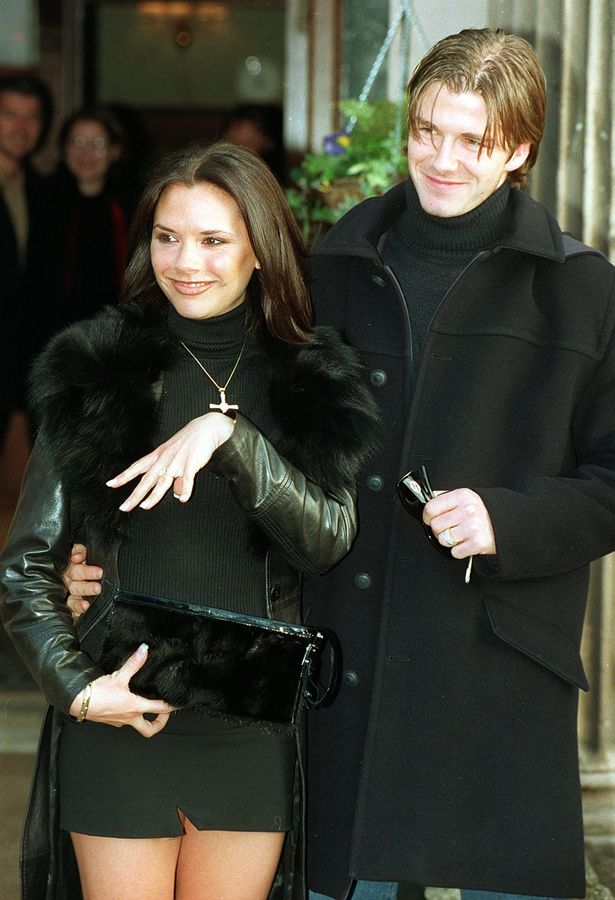 It's January 1998 and Posh Spice announces her engagement to footballer David Beckham