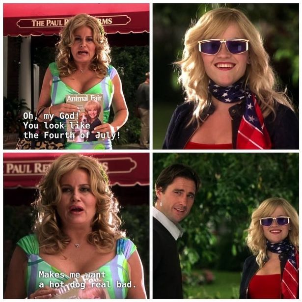 Reese Witherspoon shared a Legally Blonde 2 meme for the Fourth of July