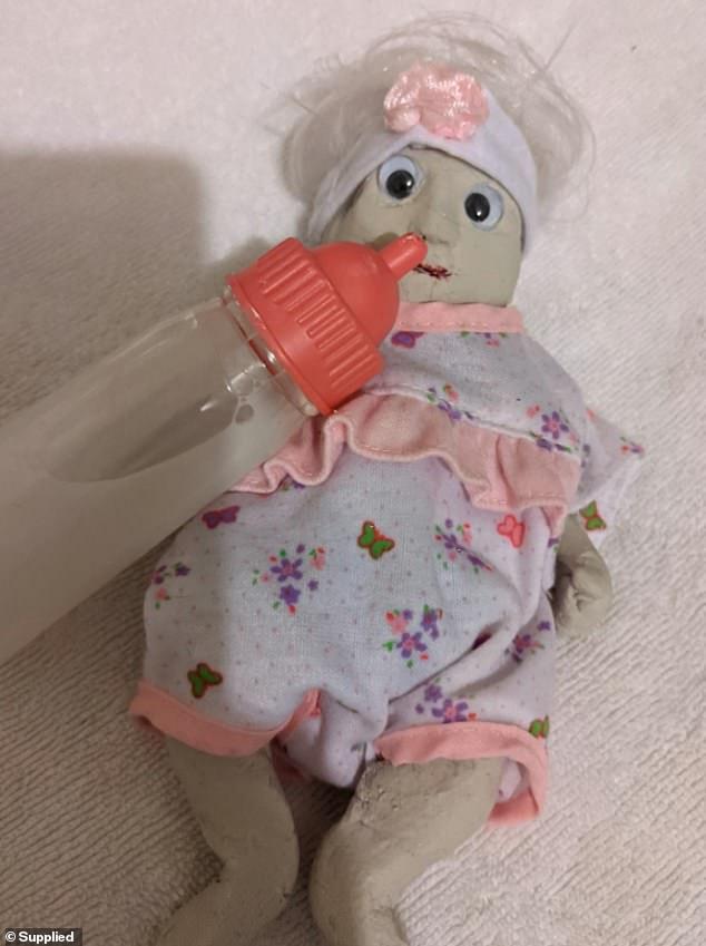 The super-fan shares pictures of plasticene dolls she makes on social media